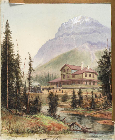 The_Field_Hotel_below_Mount_Stephen,_British_Columbia