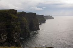 Cliffs of Moher (Had my friend Beau holding an umbrella for me while I got the shot) (Source - Robert Brown)