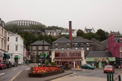 View of Oban Distillery from boardwalk. (Source - Robert Brown)