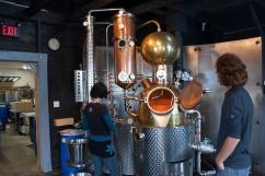 Still inside Ironworks Distillery (Source - Robert Brown)