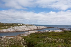 Rocky Shore near Peggy's Cove (Source - Robert Brown)