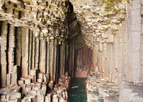 Staffa Cave (Source - Robert Brown)
