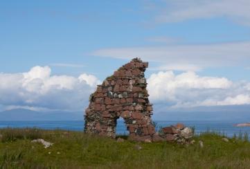 Shot behind the Iona Abbey, ruins. (Source - Robert Brown)