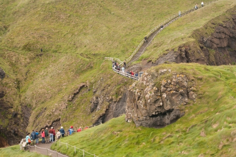 Trail to Carrick-a-Rede (Source - Robert Brown)