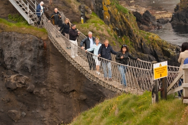 Carrick-a-Rede Rope Bridge (Source - Robert Brown)